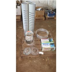 Contents of Pallet: Hanser Leveler Valve & Misc. Fittings