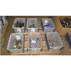 Contents of Pallet: Approx. 6 Tubs of Misc. Fittings