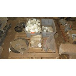 Contents of Pallet: Misc. PVC Fittings