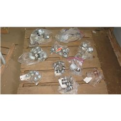Contents of Pallet: Misc. Metal Fittings