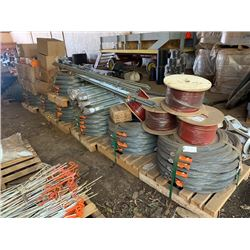 Unused Gallagher Electric Fence System (Appox. 9 Pallets)