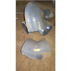 Qty 4 PVC Elbows - Large