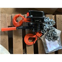 Steel & Tube Chain Hoist - Unused