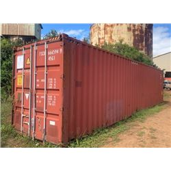 40-Foot Shipping Container (contents not included)