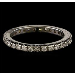 0.60 ctw Diamond Ring - 14KT White Gold