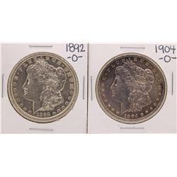 Lot of 1892-O to 1904-O $1 Morgan Silver Dollar Coins