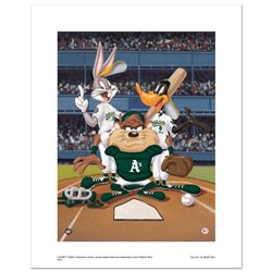 At the Plate (Athletics) by Looney Tunes