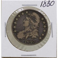 1830 Capped Bust Half Dollar Coin