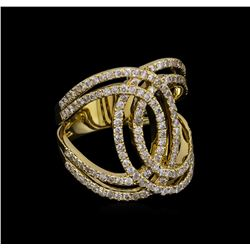 1.27 ctw Diamond Ring - 14KT Yellow Gold
