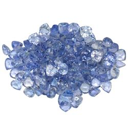 14.48 ctw Round Mixed Tanzanite Parcel