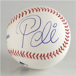 Autographed Baseball (Pele) by Pele