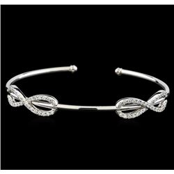 0.78 ctw Diamond Bracelet - 14KT White Gold