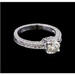 1.24 ctw Diamond Ring - 14KT White Gold