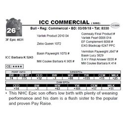 ICC COMMERCIAL ( NHC)
