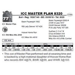 ICC MASTER PLAN 8320