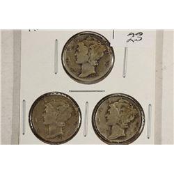 1937-P/D/S MERCURY DIMES