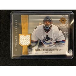 2006-07 Ultimate Collection Jerseys #UJ-RL Roberto Luongo Vancouver Canucks Card