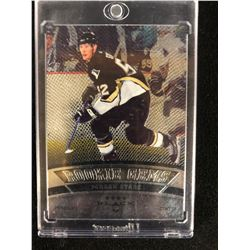 2006-07 JORDAN STAAL BLACK DIAMOND ROOKIE GEMS HOCKEY CARD