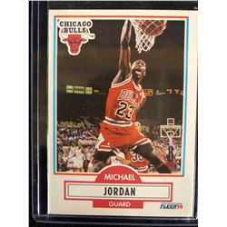 1990-91 Fleer Basketball Michael Jordan