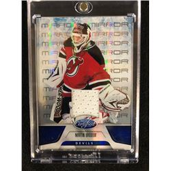 2011-12 Panini Certified Mirror #52 Martin Brodeur New Jersey Devils Hockey Card