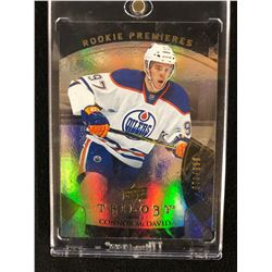 2015-16 CONNOR McDAVID UPPER DECK TRILOGY ROOKIE PREMIERES HOCKEY CARD