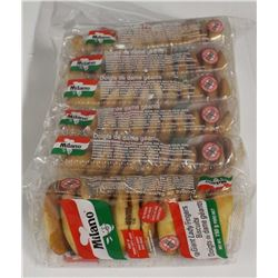 6 PACKS OF MILANO GIANT LADY FINGERS