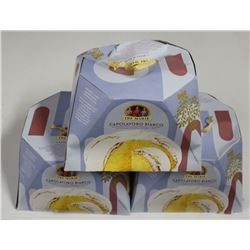 LOT OF 3 TRE MARIE CHRISTMAS CAKES
