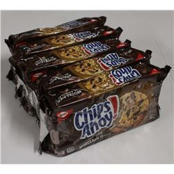 5 PACKS OF CHIPS AHOY! CHUCKS COOKIES