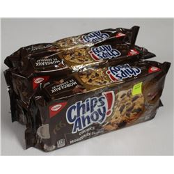 3 PACKS OF CHIPS AHOY! CHUCKS COOKIES