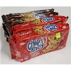 4 PACKS OF CHIPS AHOY! COOKIES - CHUNKS/CHEWY