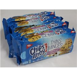 4 PACKS OF CHIPS AHOY! THINS COOKIES- OATMEAL