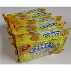 5 PACKS OF GOLDEN OREO THINS COOKIES