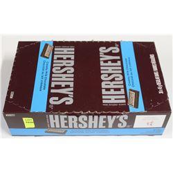 BOX OF HERSEY'S MILK CHOCOLATE BARS