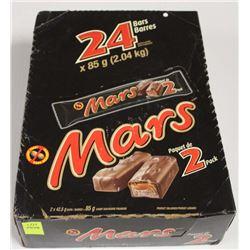 BOX OF MARS BARS