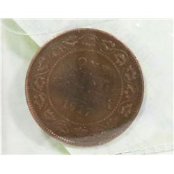 CANADIAN  1917 LARGE PENNY