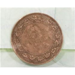 CANADIAN  1916 LARGE PENNY