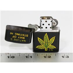 CANNABIS WINDPROOF LIGHTER
