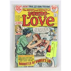 01973 YOUNG LOVE COMIC BOOK