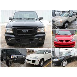 FEATURED LOT: CARS AND TRUCKS!