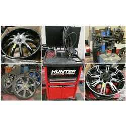 FEATURED LOT: TIRE CHANGERS, BALANCERS & TIRES