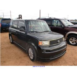 2006 - SCION XB // SALVAGE TITLE