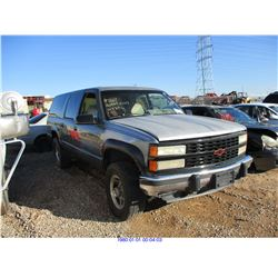 1993 - CHEVROLET SUBURBAN // RESTORED SALVAGE