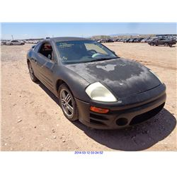 2003 - MITSUBISHI ECLIPSE // SALVAGE TITLE