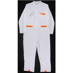 """Christopher Lloyd Signed """"Back to the Future"""" White Lab Suit Costume (JSA LOA"""