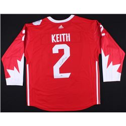 Duncan Keith Signed Team Canada Jersey (Beckett COA)