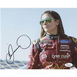 Danica Patrick Signed 8x10 Color Photo (JSA COA)