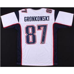 Rob Gronkowski Signed Patriots Jersey (PSA COA)