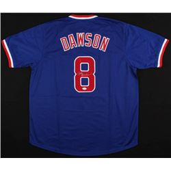 Andre Dawson Signed Cubs Jersey (JSA COA)
