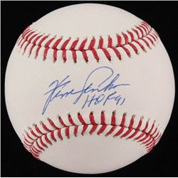 Fergie Jenkins Signed OML Baseball W/ HOF Inscription (JSA COA)