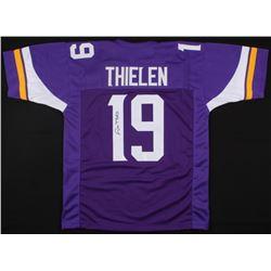Adam Thielen Signed Vikings Jersey (JSA COA)